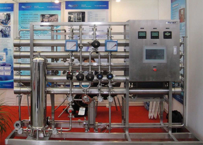 Stainless steel reverse osmosis water purification for pharmaceuticals 1000L/H