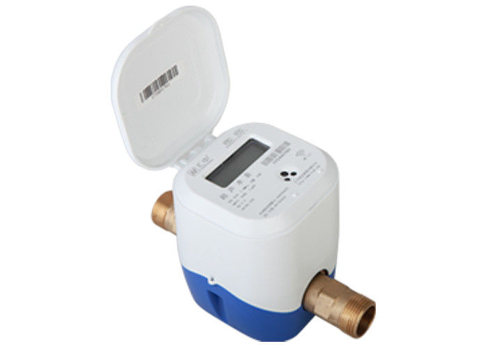 IP68 Ultrasonic Flow Meters And Heat Mete For Energy Management Brass Body DN25