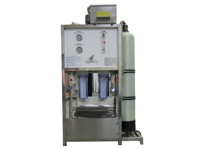 Compact Vertical Seawater RO Plant machine for marine use 5m3/day
