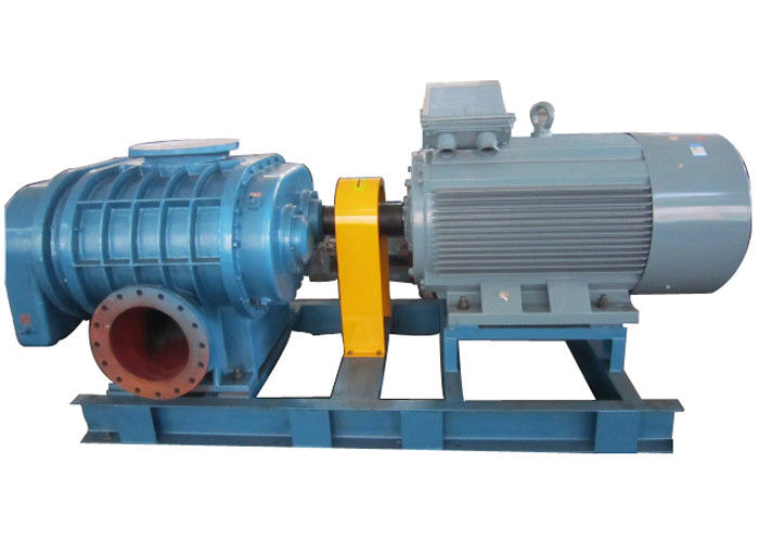 High pressure Horizontal  Tri-lobe Roots Blower for filter system 0.6bar  58.8kpa 132kw