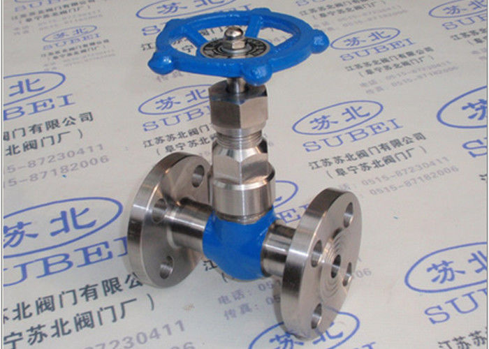 Flange gate valve for high pressure, high temperature steam transfer PN16 Mpa PN80 Mpa DN10 - DN40